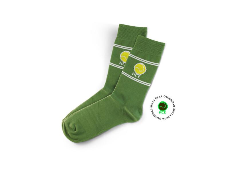 Calcetin Tenis Verde