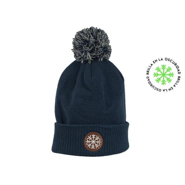 Gorro Pompon Nieve