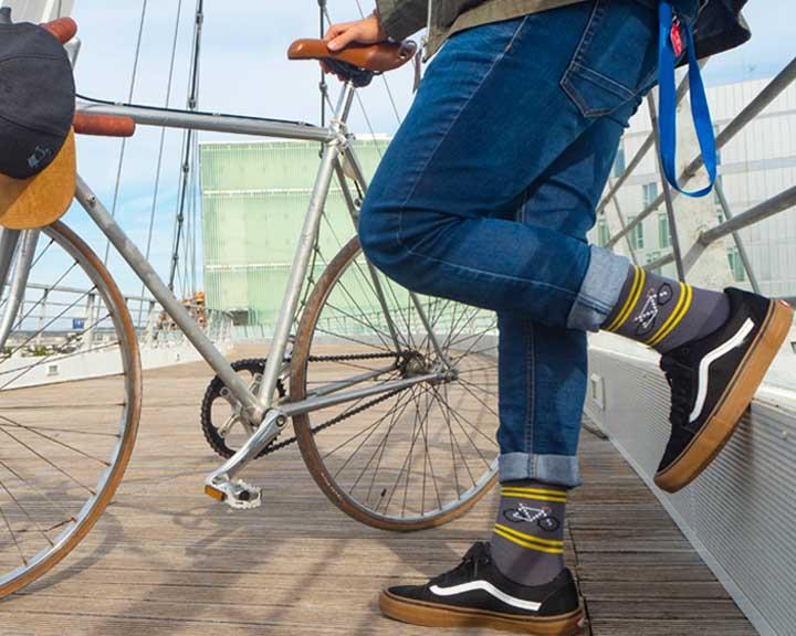 Calcetines para los amantes de las bicis