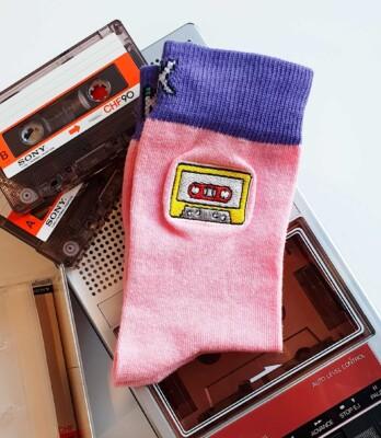 Calcetines Estampados Cassette