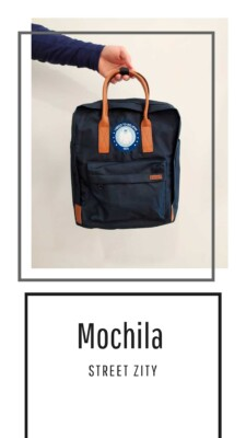 Mochila Urbana Azul