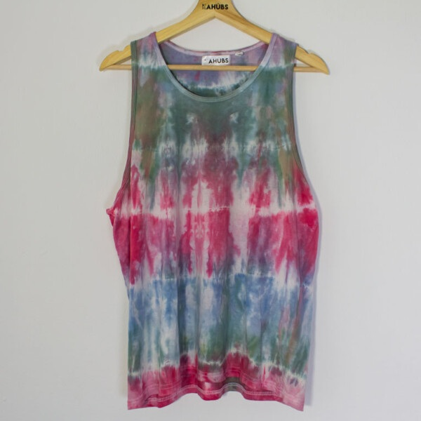 Camiseta tirantes Tie-Dye